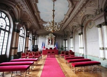 Salle des mariages, hotel de ville Saint-Germain